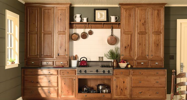 cherry wood color facts | rustic cherry cabinets, cherry cabinets