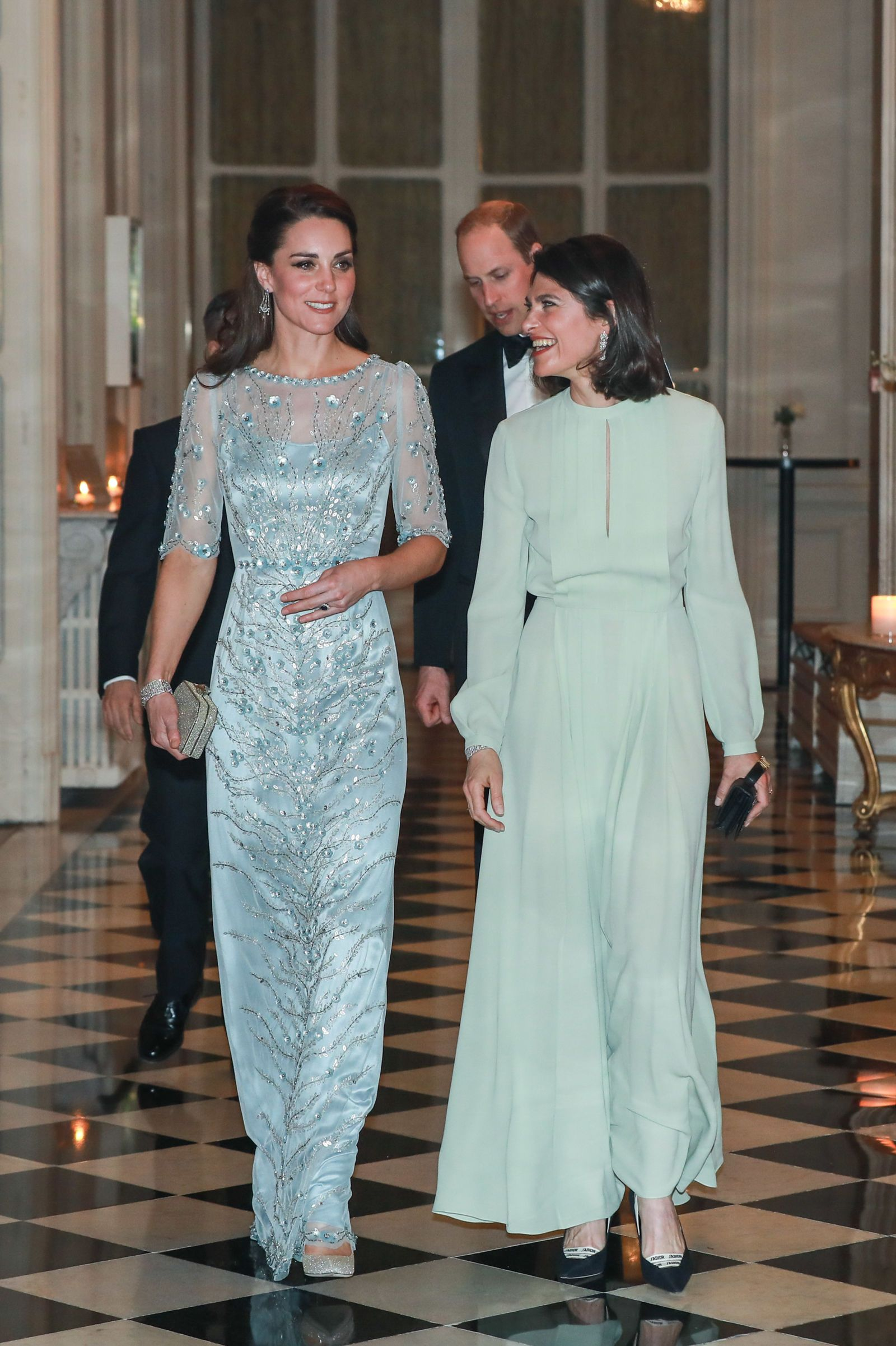 Kate Middleton Is Looking Mint In A Mint Green Jenny Packham Coat ...
