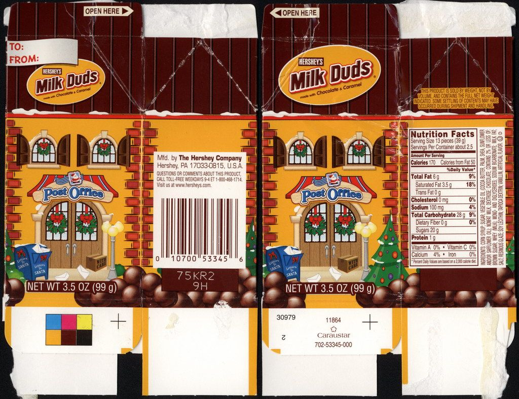 Hershey Candy Packaging