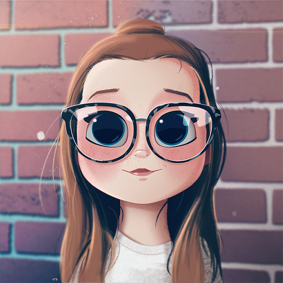 Portrait Digital Painting Illustration Character Design Female
