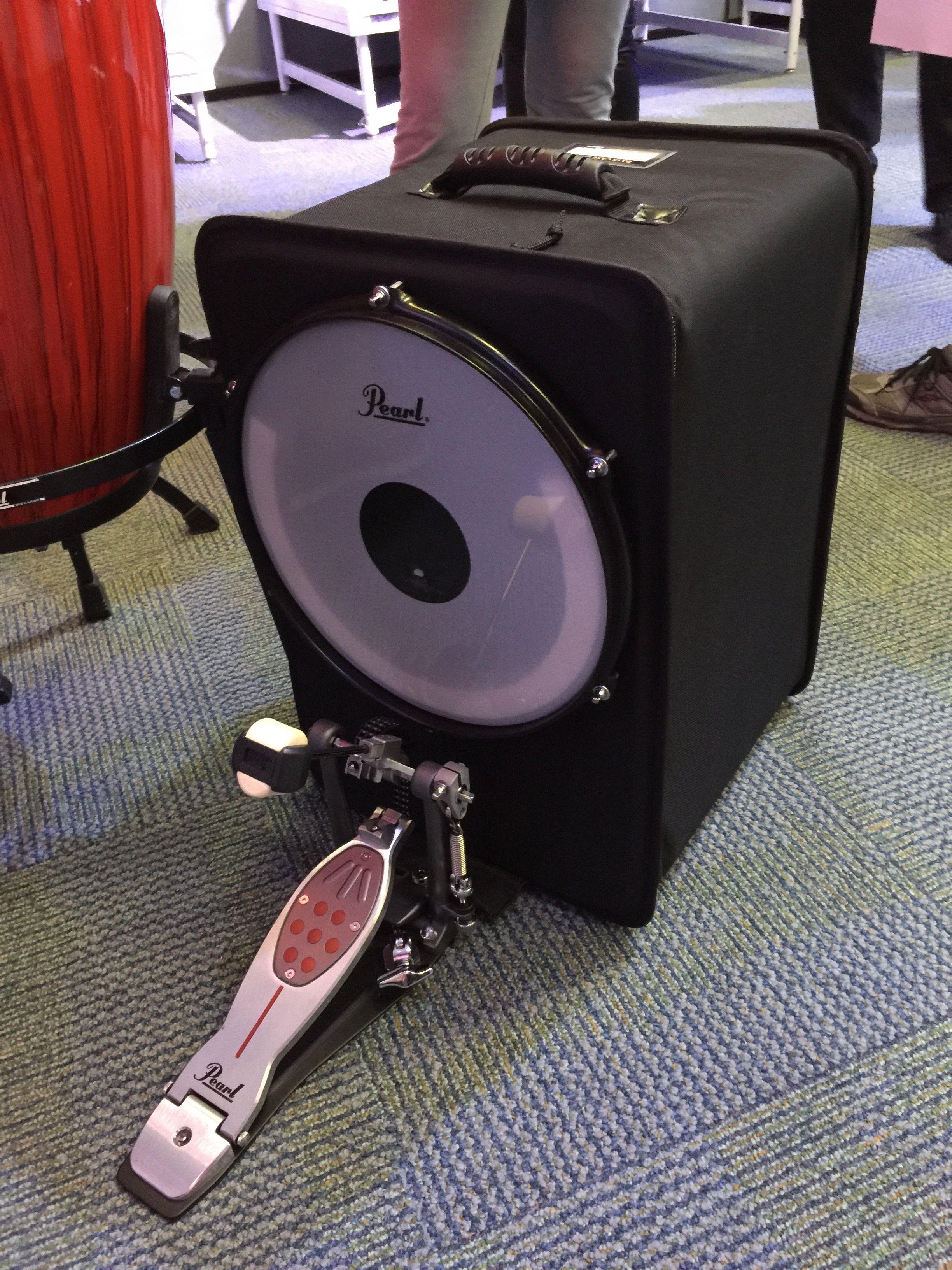 Pearl Drums Cajon Bass Case Cajon drum, Drum box, Pearl