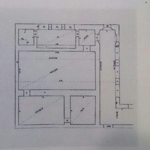 Progetto Per Un Edificio Termale L B Alberti Da Una Pianta