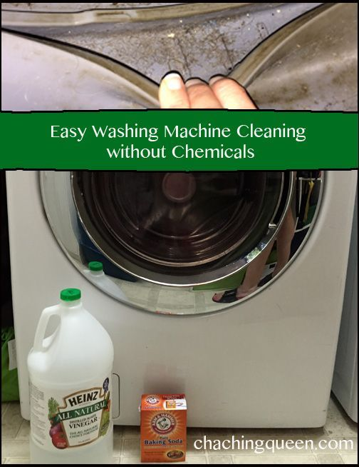 how to clean washer with vingear