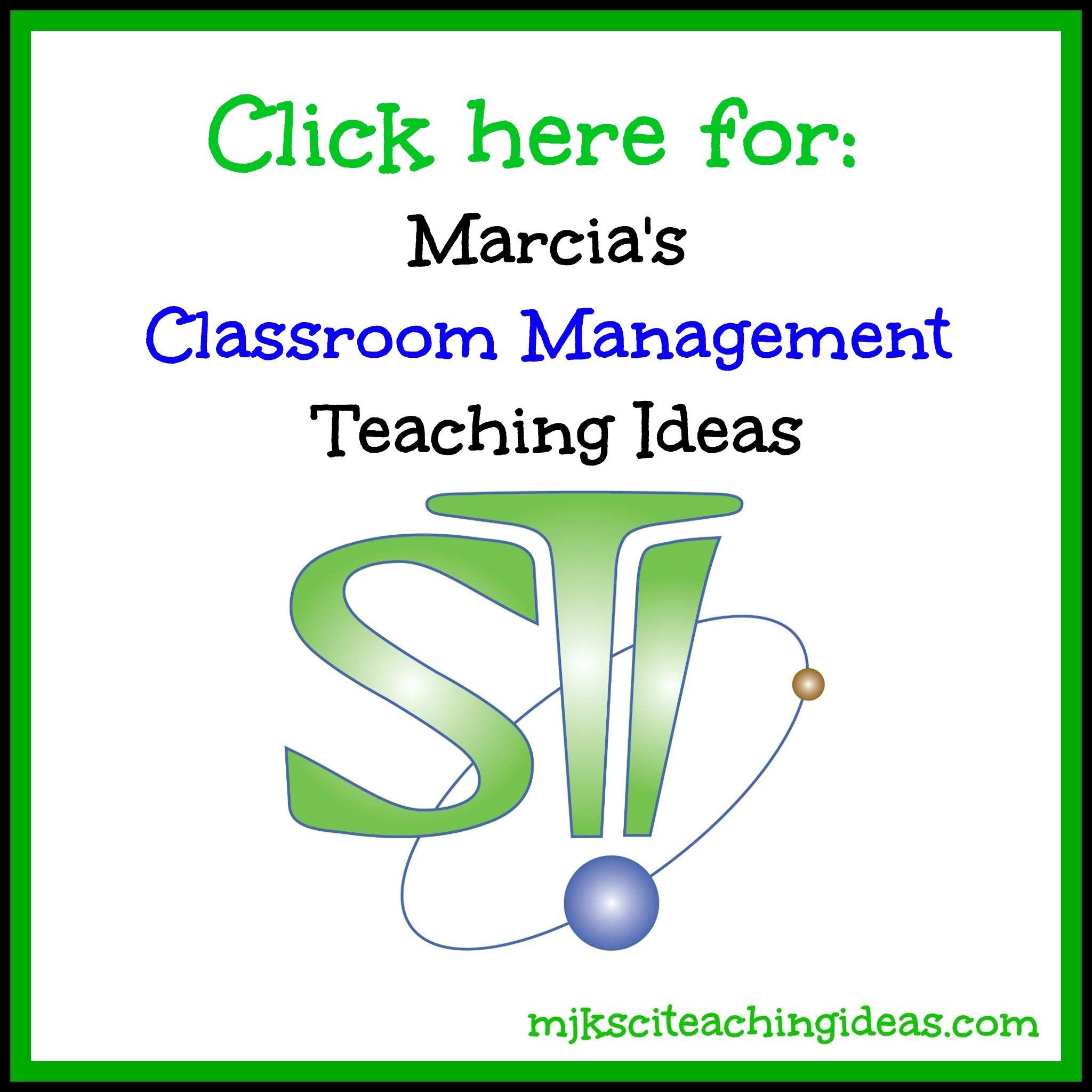 Marcia S Science Teaching Ideas
