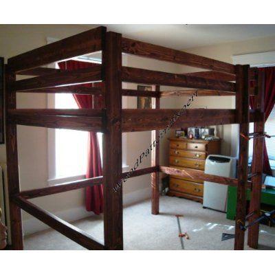 LOFT BUNK BED Paper Plans SO EASY BEGINNERS