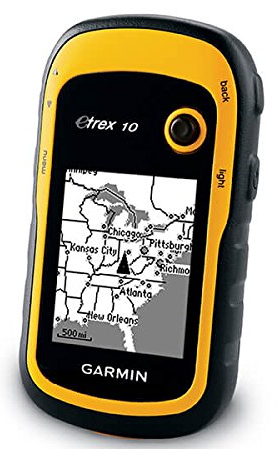 Garmin eTrex10 GPS Rugged handheld navigator with