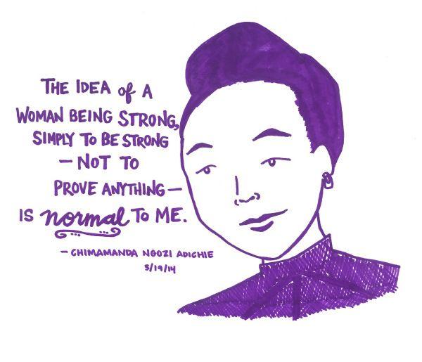 Como O Feminismo Mudou A Sua Vida Chimamanda Ngozi Adichi Feminismo Frases De Livros