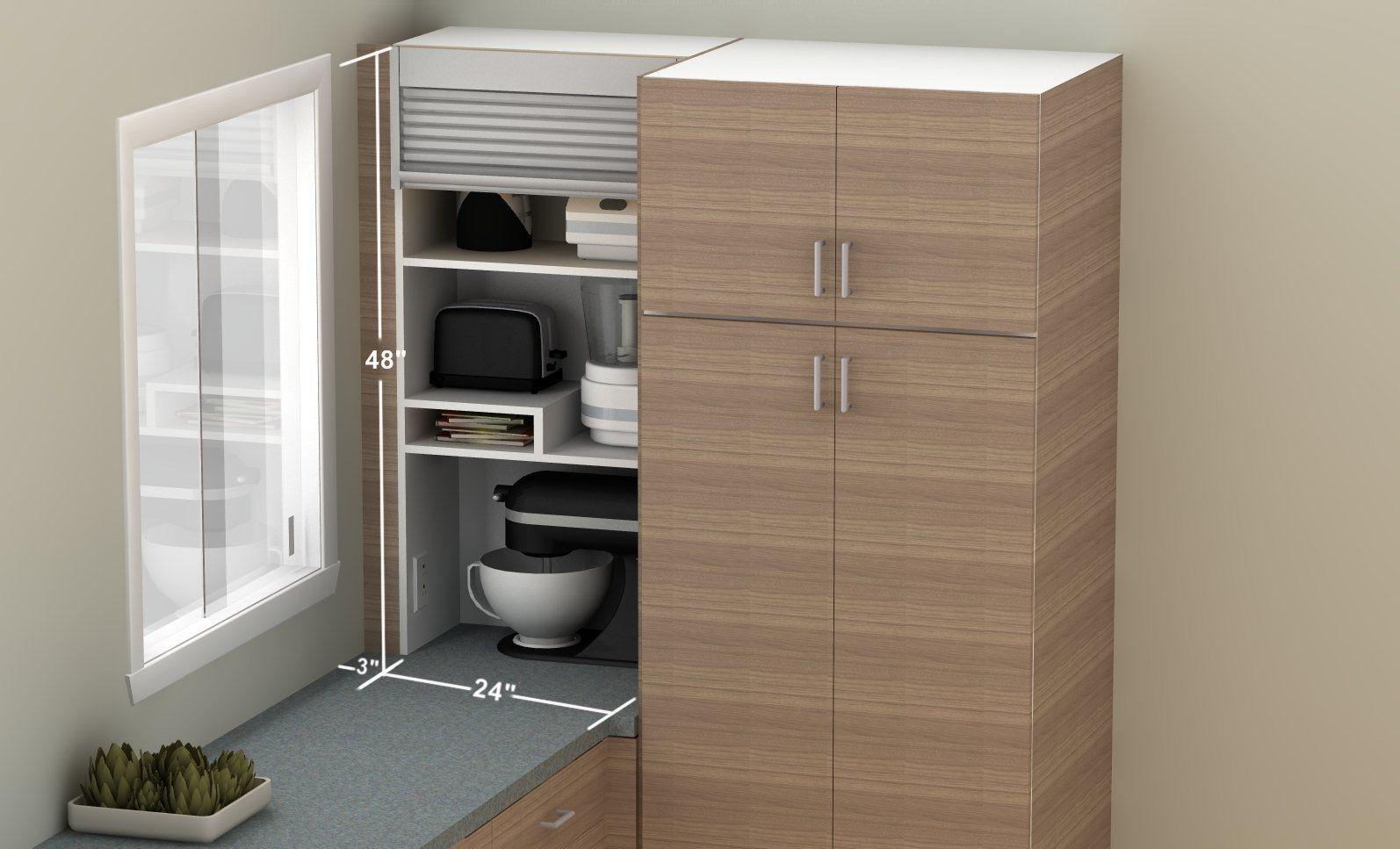 Ikea Hack Build Your Own Kitchen Appliance Garage Online