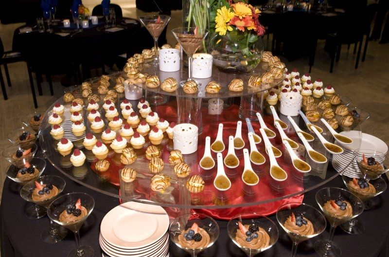 Wedding Reception Dessert Stations And Bars
