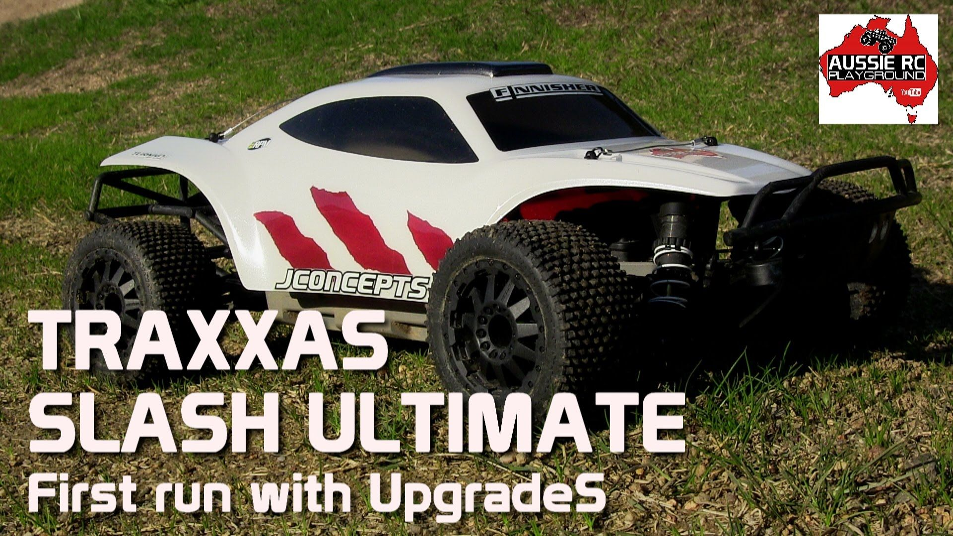 Traxxas Slash Ultimate with bud upgrades CRAZY Power