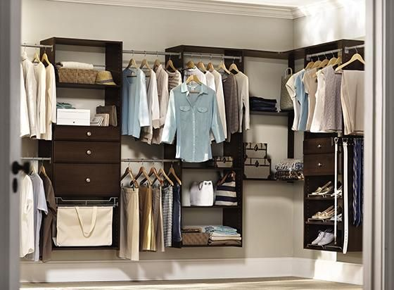 17 Best images about closet on Pinterest | Closet organization, Polished  chrome and Glass shelves