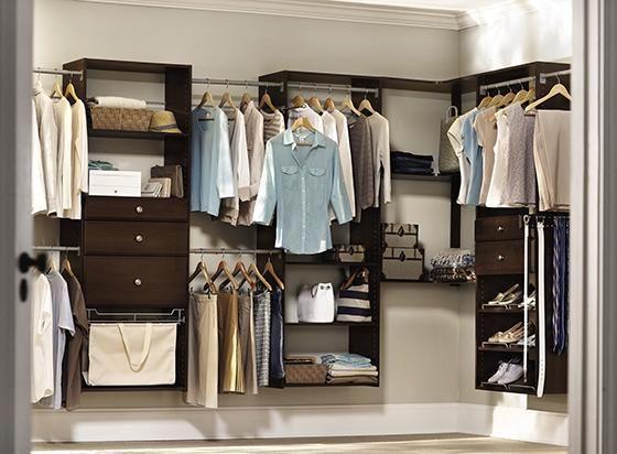 Martha Stewart Living Hanging Closet Starter Kit Closet