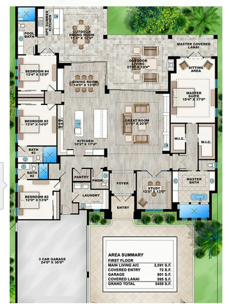 Pin By Candyce Clanton On My Artistic Home Makeover Ideas House Plans Dream House Plans Outdoor Entertaining Area