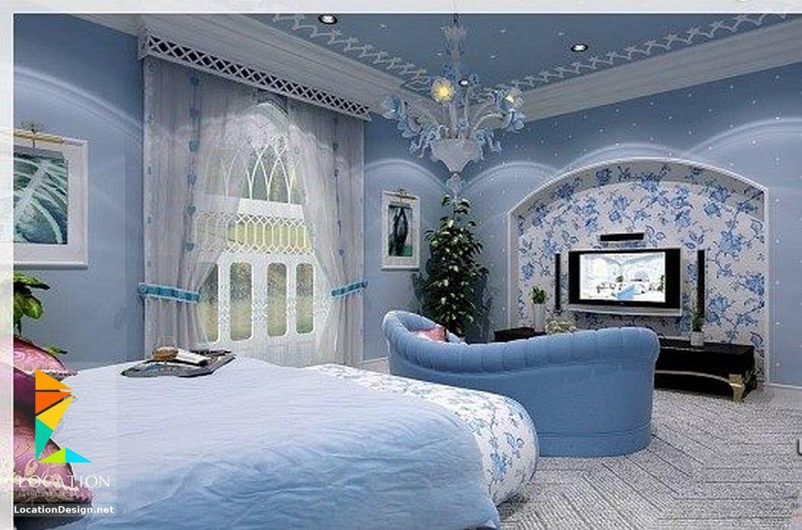 افضل 100 تصميم غرف نوم للعرسان مودرن Best 100 Bedrooms Design Light Blue Rooms House Styles Modern Bedroom Decor