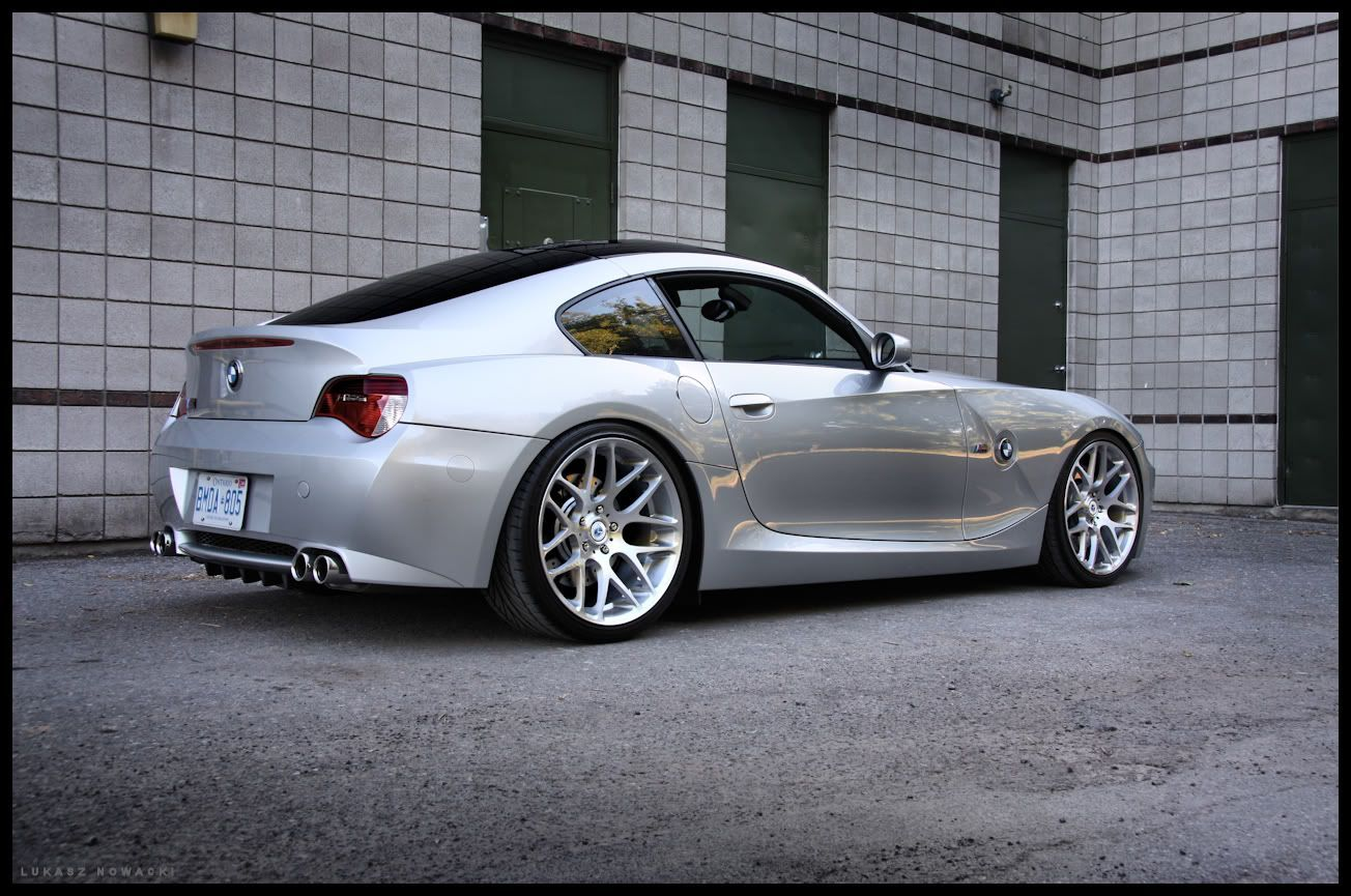 z4 m coupe with aero side skirts on 19 staggered morr vs8. Black Bedroom Furniture Sets. Home Design Ideas
