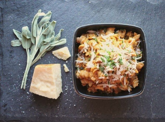 Money Pit Love: Recipe Tuesday | Rotini with Creamy Pumpkin-Sage Sauce