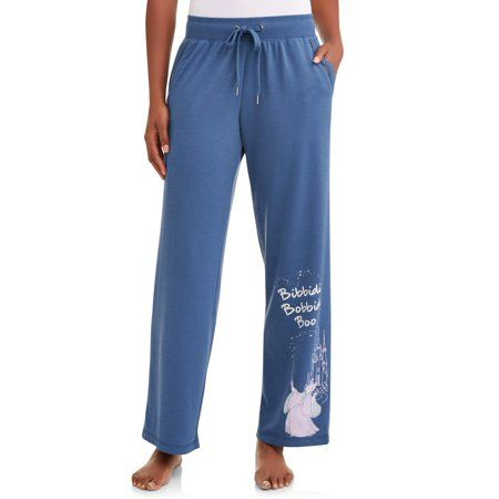 efec6e804 Plus Size Disney Women's and Women's Plus Cinderella Pajama Pant, Size:  Large, Blue