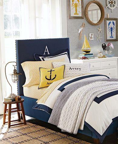 Nautical bedroom accessories