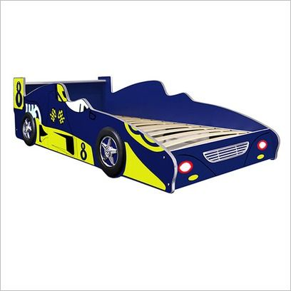 Racing Car Bed In Blue Car Bed Race Car Bed Bed