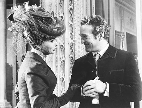 Sophia Loren and Paul Newman in Lady L, 1965.