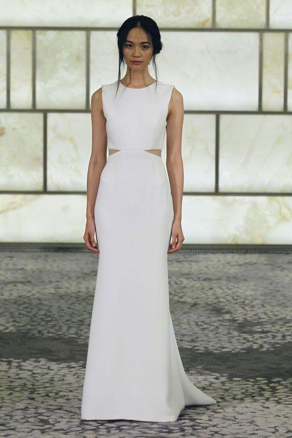 10 Sensational Crop Top Wedding Dresses | Wedding dress and Wedding