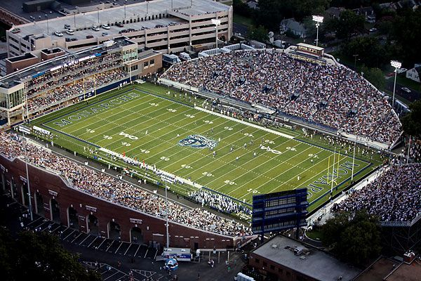 College Football Stadiums Odu S Move Fuels Drive To Expand Foreman Field New Football Stadiums Football Stadiums Football