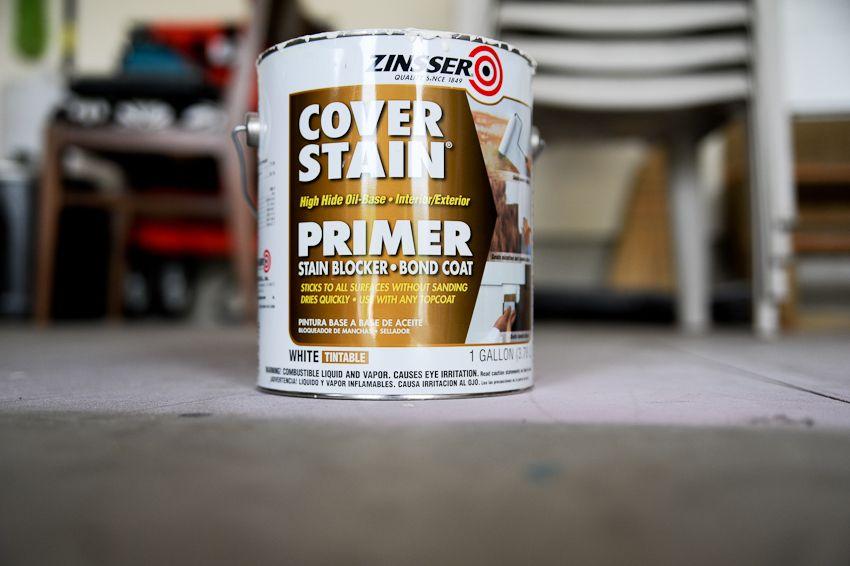 Zinsser Oil Based Primer For Painting Laminate And