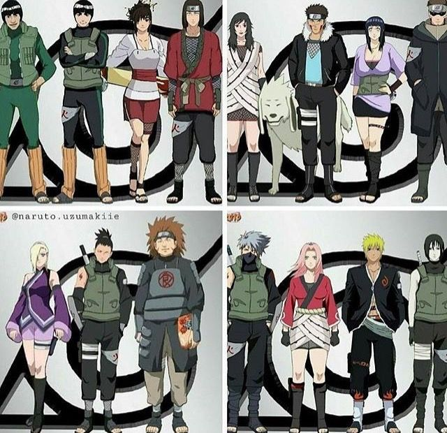 Naruto Characters Reimagined Anime Naruto Naruto Shippuden Anime Naruto Characters