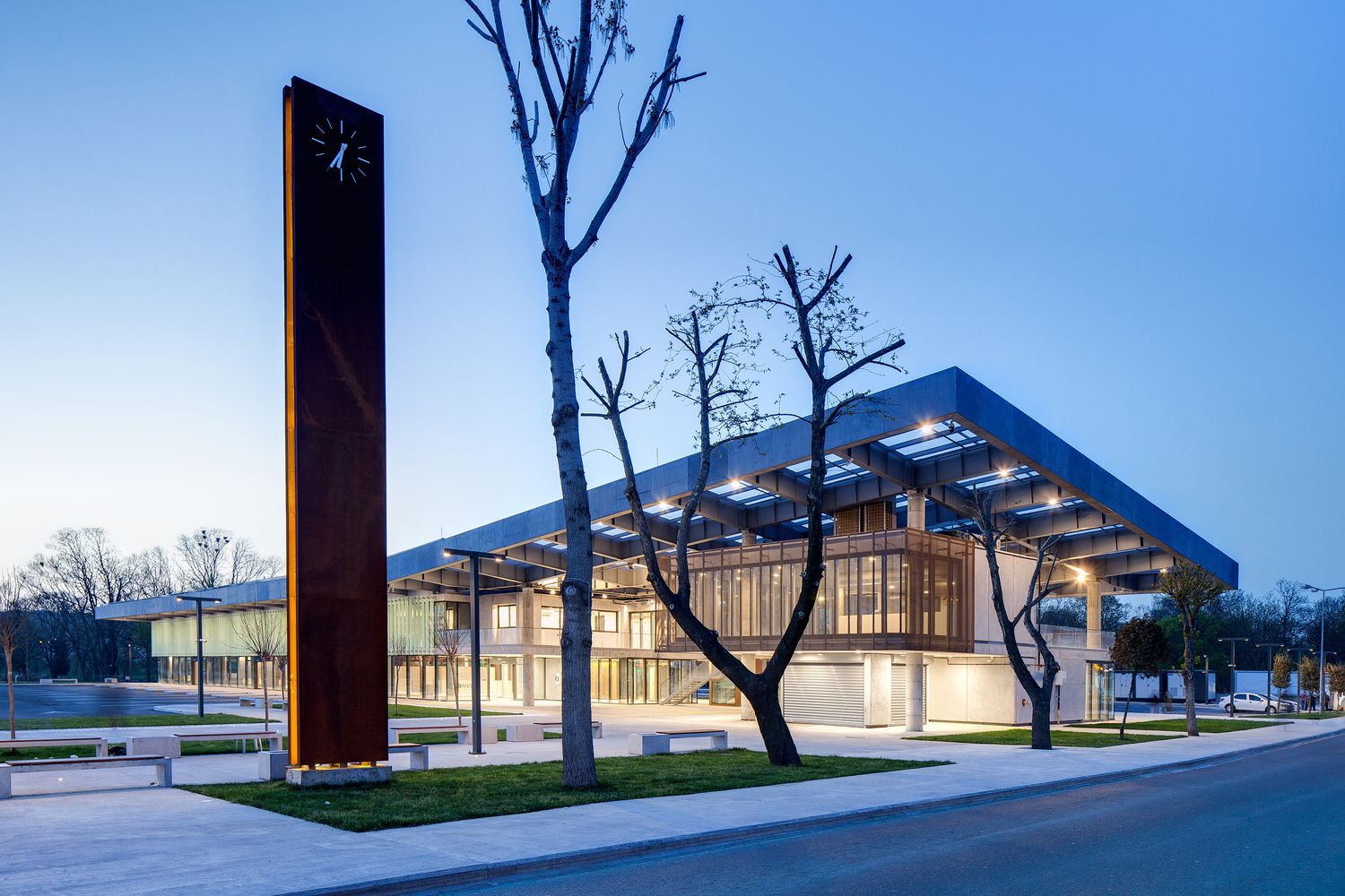 Gallery of Lüleburgaz Bus Station / Collective Architects