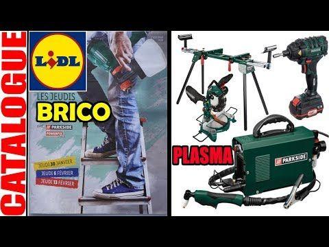 Catalogue Lidl Bricolage Fevrier 2020 Decoupeur Plasma Parkside Cle A Chocs Compresseur Visseuse Youtube En 2020 Lidl Visseuse Bricolage