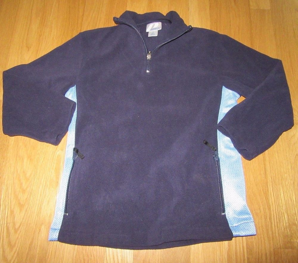 BOYS PRO SPIRIT ATHLETIC GEAR BLUE FLEECE PULLOVER SIZE: SMALL ...