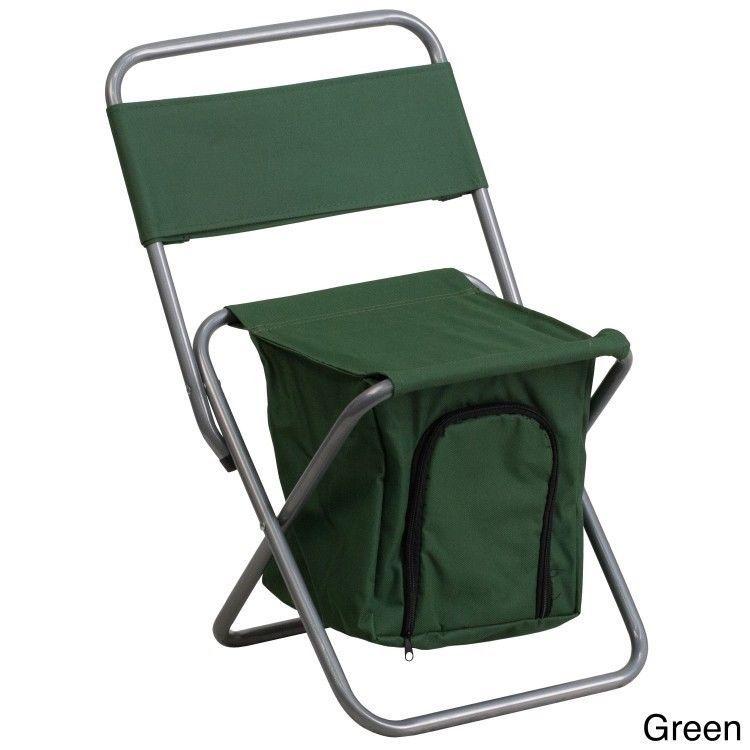 Green Fishing Chair Irish Deck Kids Folding Childrens Outdoor Seating Camping Chairs Soccer Lancasterhome