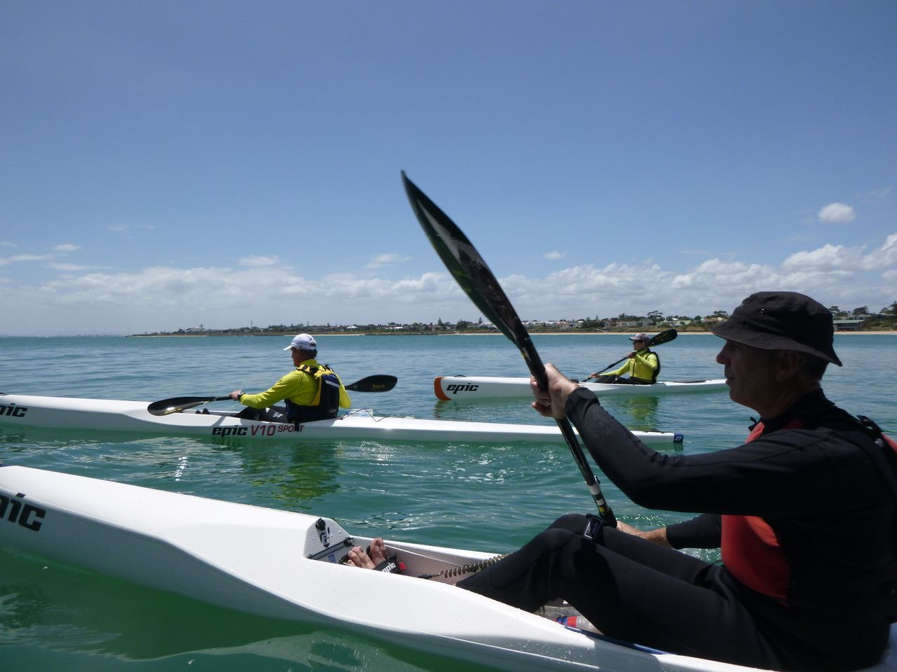 Learn to Surf Ski and Ocean Kayak - 3 hour Private course