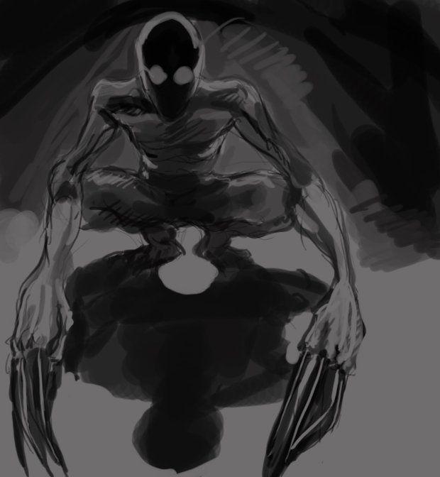 creepypasta the rake horror bocetos y me gustas