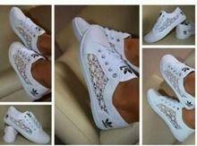 adidas schoenen dames kant