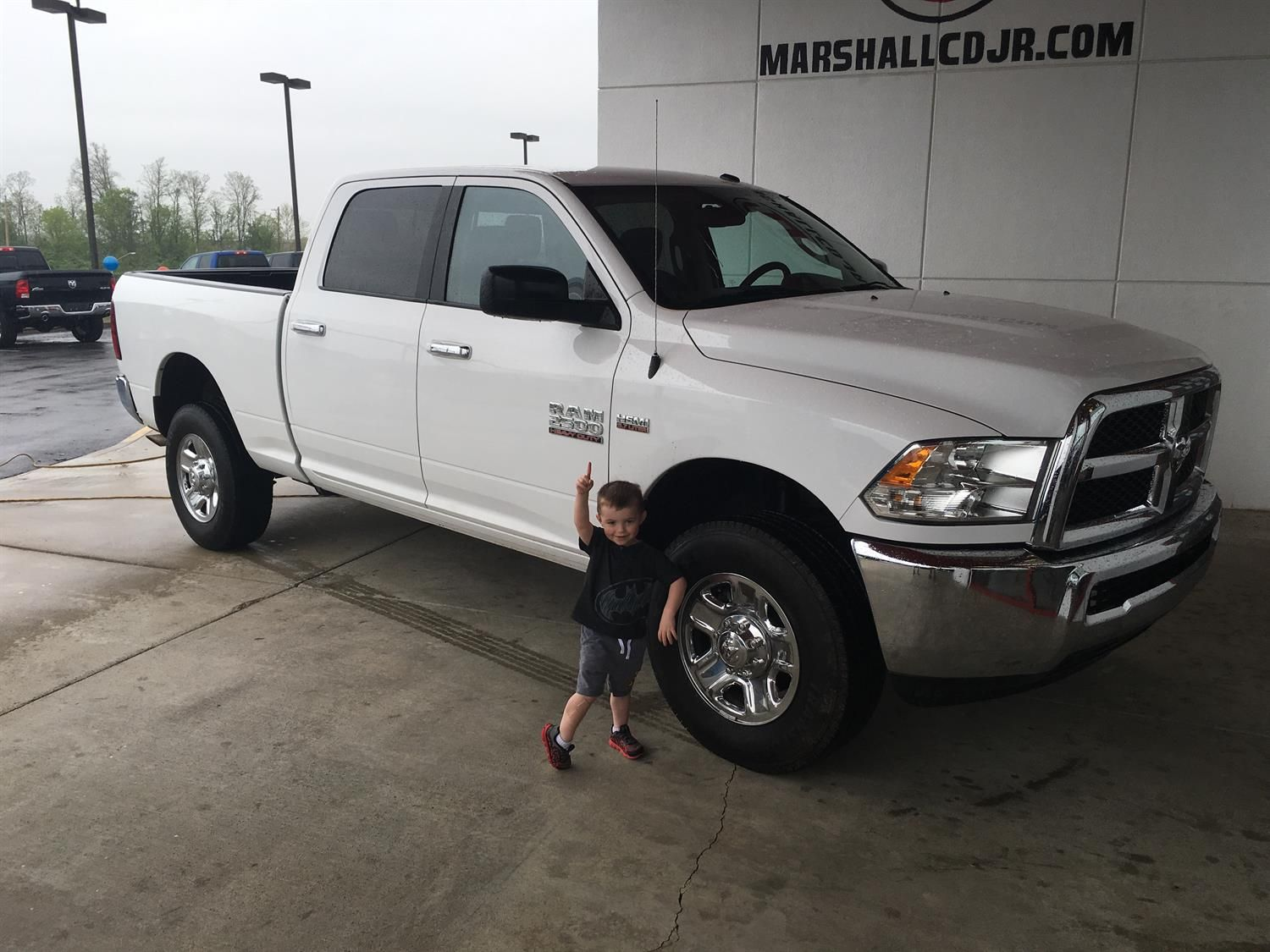 MULLINS's new 2015 Ram 2500! Congratulations and best wishes from Marshall Chrysler Dodge Jeep Ram and ARRON ARRASMITH.