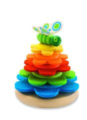 Flower & Butterfly Stacking Toy $34