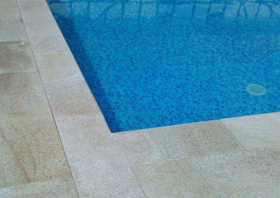 Randsteine Granit Pool Rechteckpool Beckenrandsteine Poolumrandung  Granitsteine | EBay