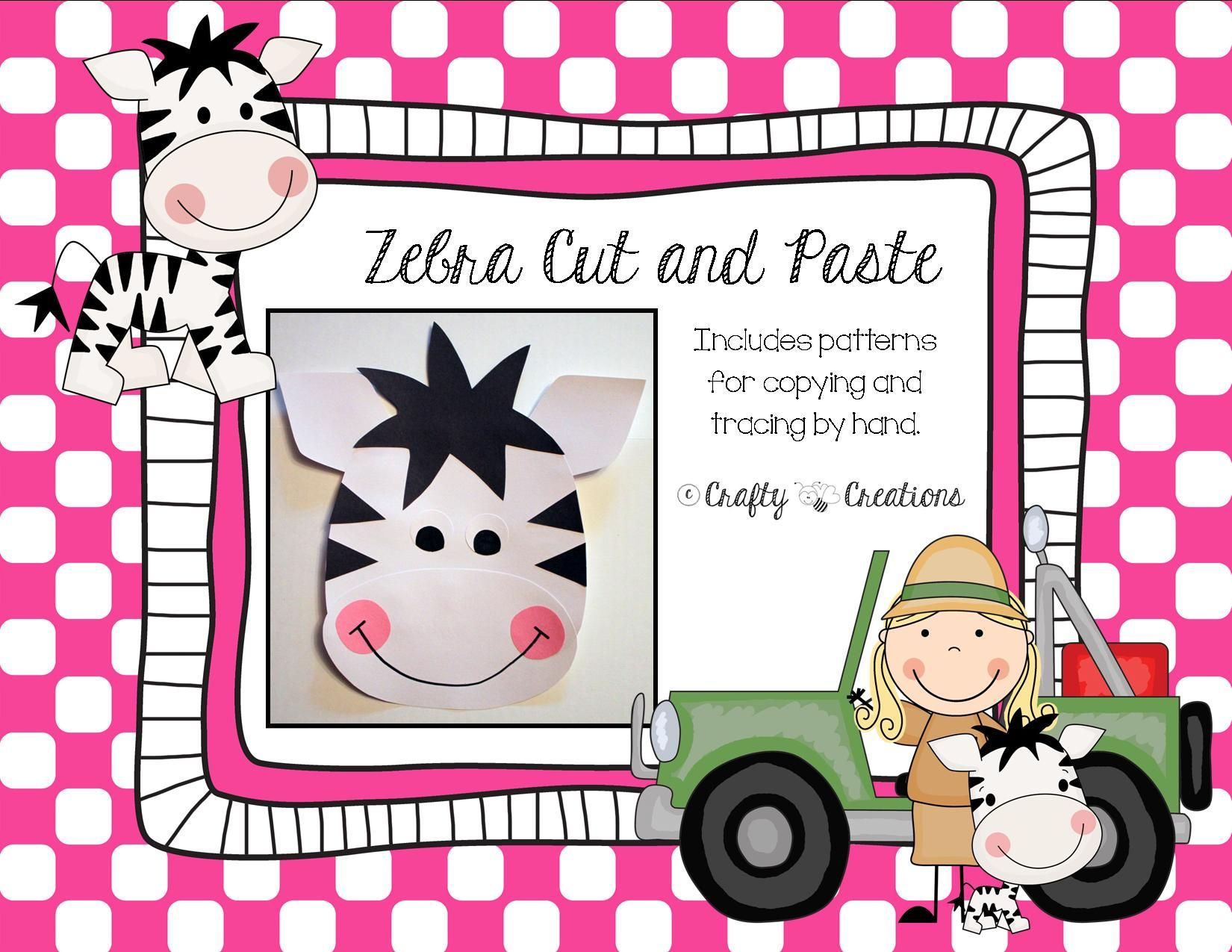 Zebra Craft With Images