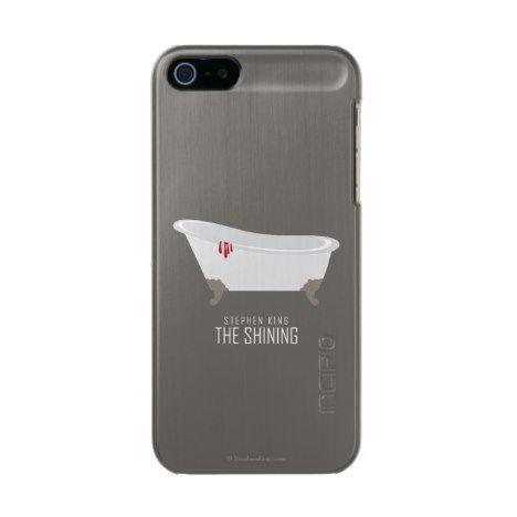 Room 217 Bathtub Metallic Phone Case For IPhone SE/5/5s #horror  #stephenking #official #licensed #merchandise