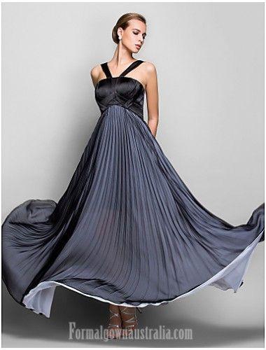 Australia Formal Evening Dress Military Ball Dress Black Plus Sizes