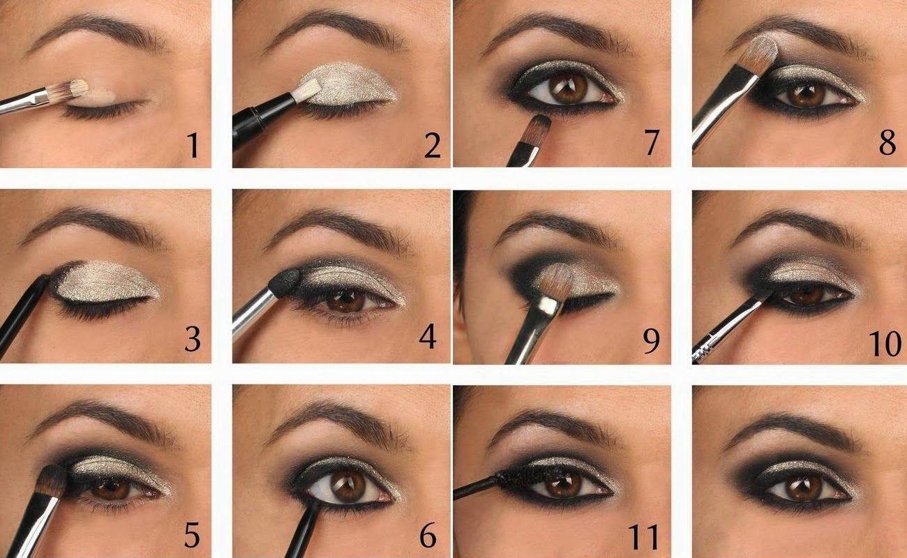 smokey eye tutorial   eye makeup   eye makeup steps, smoky