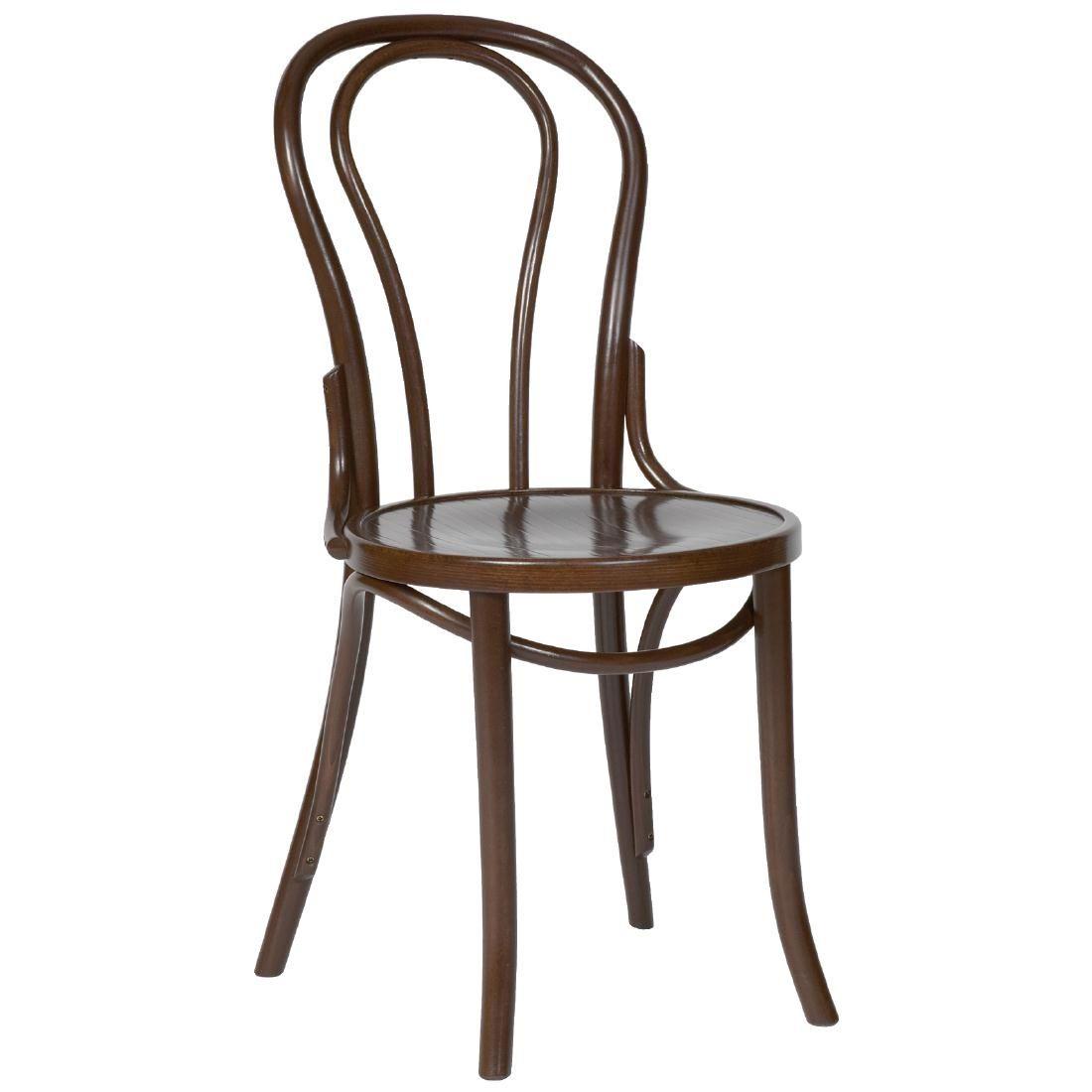 Bentwood bistro chair - Fameg Bentwood Bistro Sidechair Walnut Finish Pack Of 2