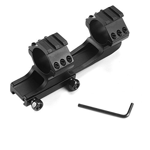 Feyachi Tactical 30mm One Piece Cantilever Dual Ring Scope Mount Fits Rail Mounting Systems Read More At The Image Link Mount System Scope Mount Tactical