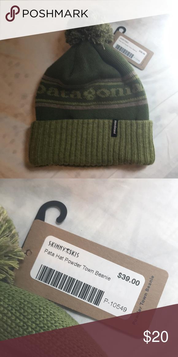 Patagonia Powder Town Beanie Unworn winter hat Patagonia Accessories Hats 6e76e9e2a33b