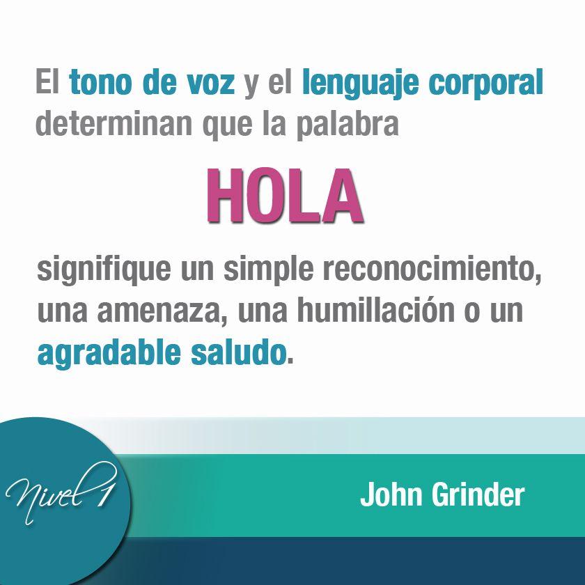 El tono de voz y el lenguaje corporal son determinantes en las comunicaciones. #lenguajecorporal #comunicaciones #asertividad