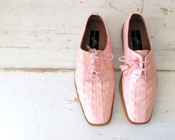 peach dress shoes for men