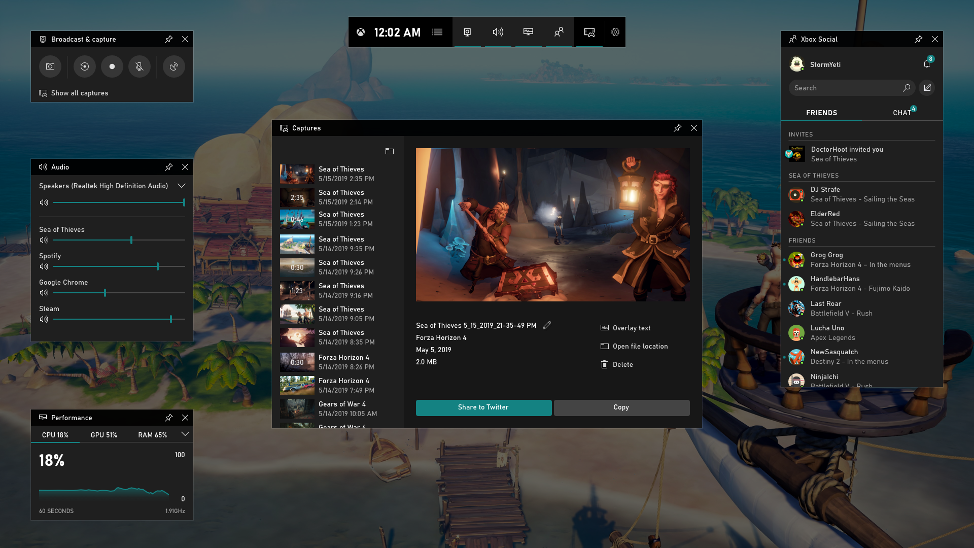Hot new product on Product Hunt Xbox Game Bar A