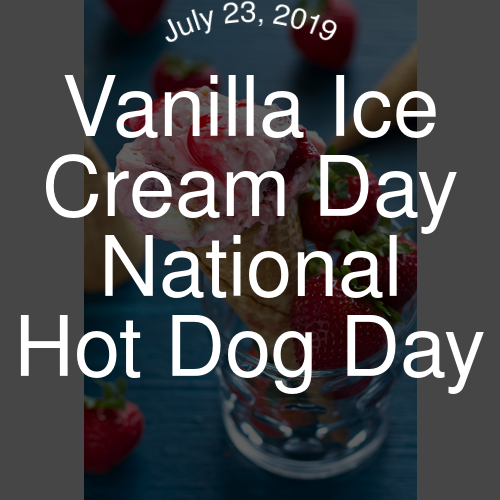 July 23 2019 At 01 00pm National Holidays National Day National