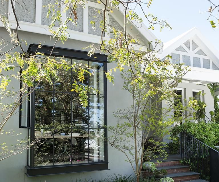 An author's renovated home in Perth Window architecture